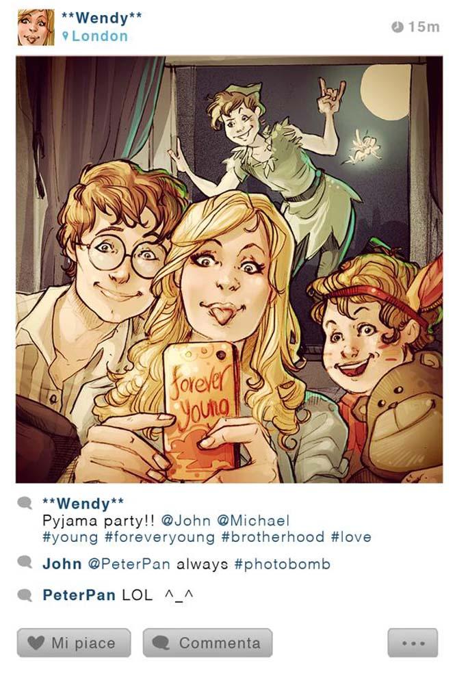 Αν οι χαρακτήρες της Disney είχαν Instagram (4)