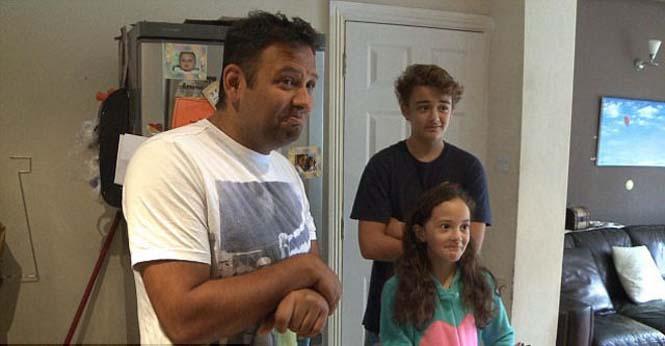 Απρόσκλητος επισκέπτης στο πρωινό μιας βρετανικής οικογένειας (4)