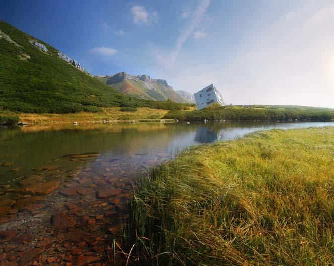 Φουτουριστική καλύβα για τα βουνά της Σλοβακίας (8)