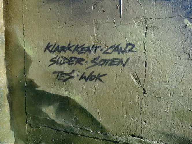 Εντυπωσιακό graffiti Jurassic Park (11)