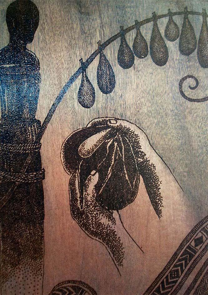 Καλλιτέχνης δημιουργεί απίστευτα έργα τέχνης με το φως του ήλιου και έναν μεγεθυντικό φακό (9)