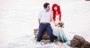 Ένας μοναδικός γάμος εμπνευσμένος από την «Μικρή Γοργόνα»
