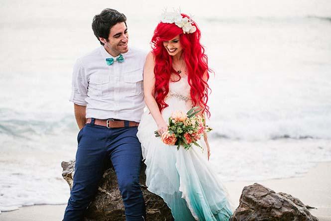 Γάμος εμπνευσμένος από την Μικρή Γοργόνα (10)