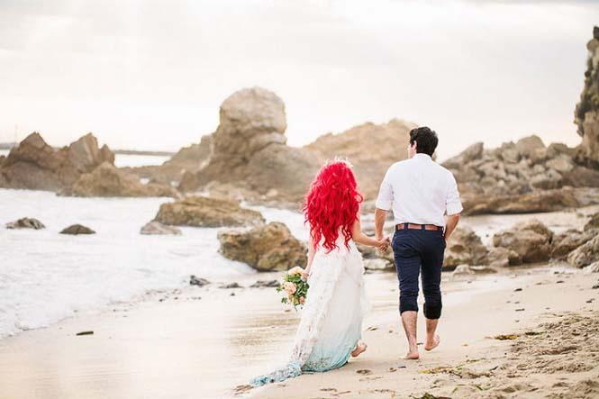 Γάμος εμπνευσμένος από την Μικρή Γοργόνα (24)