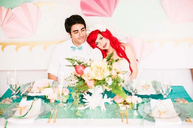 Γάμος εμπνευσμένος από την Μικρή Γοργόνα (23)