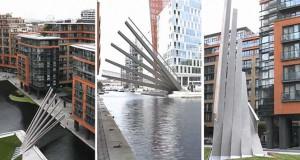 Εντυπωσιακή γέφυρα στο Λονδίνο που ανοίγει σαν βεντάλια (Video)