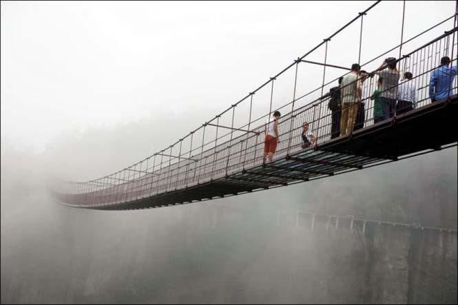 Γυάλινη γέφυρα σε επαρχία της Κίνας (5)