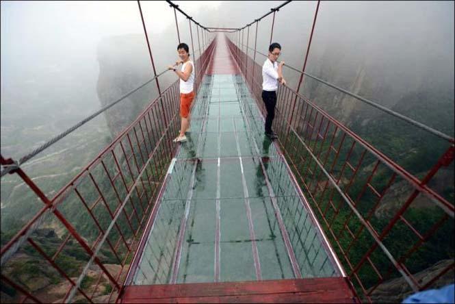 Γυάλινη γέφυρα σε επαρχία της Κίνας (6)