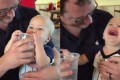 Κανείς δεν λατρεύει το νερό όπως αυτό το μωρό (Video)