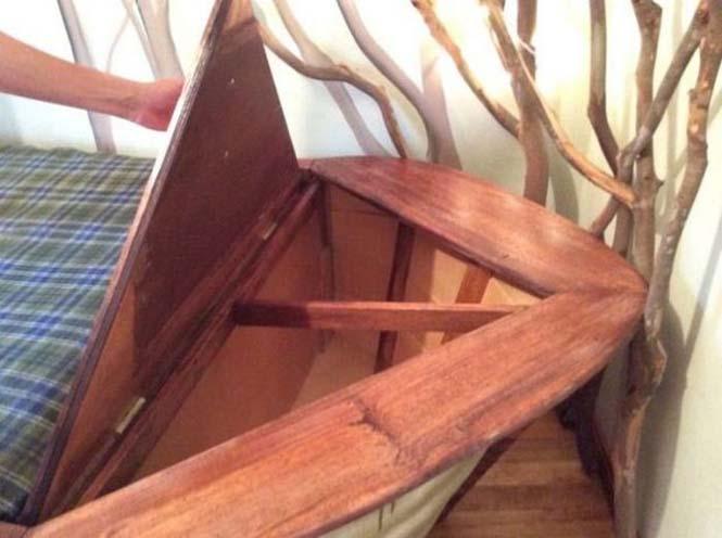 Γονείς κατασκεύασαν κρεβάτι - βάρκα για το παιδί τους (8)