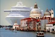 Κρουαζιερόπλοιο στην Βενετία (1)
