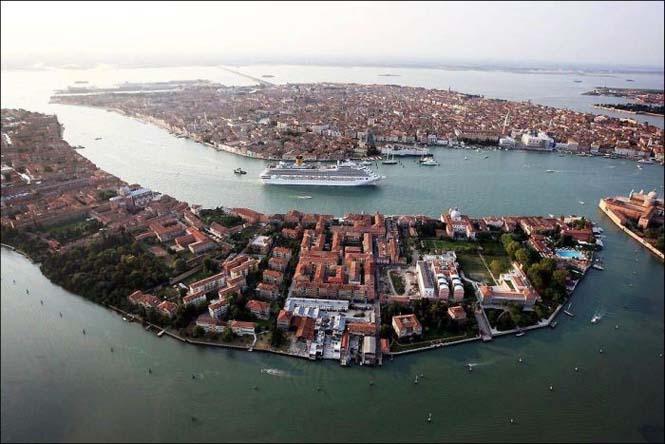 Κρουαζιερόπλοιο στην Βενετία (4)