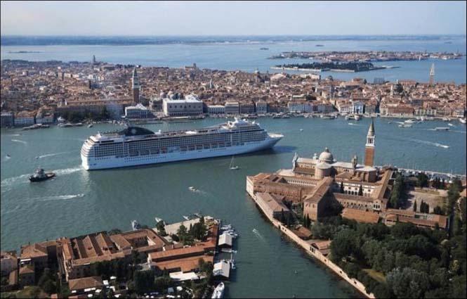 Κρουαζιερόπλοιο στην Βενετία (5)