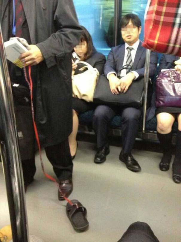Παράξενες και κωμικοτραγικές φωτογραφίες στα μέσα μεταφοράς (14)