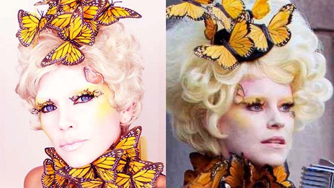 Make-up artist του Hollywood μεταμορφώνεται σε διάσημα πρόσωπα (4)