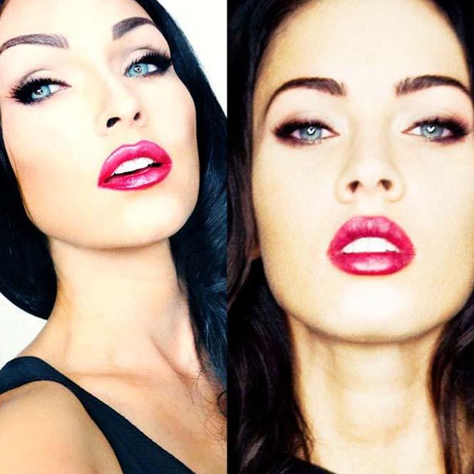 Make-up artist του Hollywood μεταμορφώνεται σε διάσημα πρόσωπα (9)