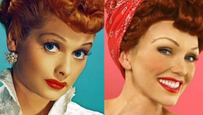 Make-up artist του Hollywood μεταμορφώνεται σε διάσημα πρόσωπα (3)