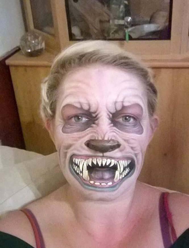 Μαμά μετατρέπεται σε τρομακτικούς δαίμονες (17)