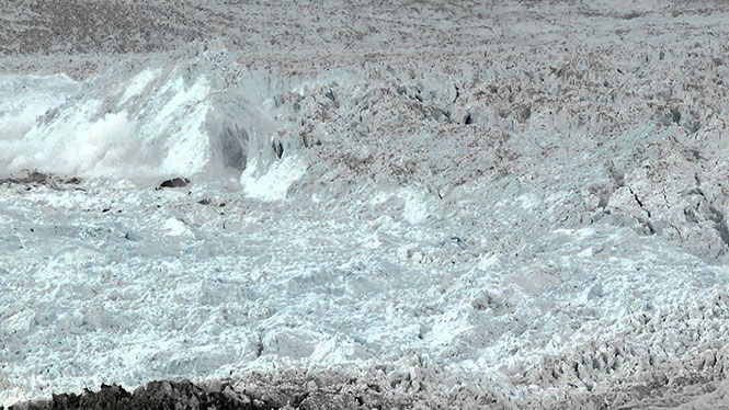 Η μεγαλύτερη κατάρρευση παγετώνα