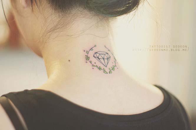 Μινιμαλιστικά τατουάζ από την Seoeon (7)