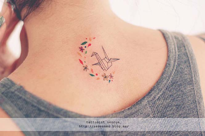 Μινιμαλιστικά τατουάζ από την Seoeon (14)