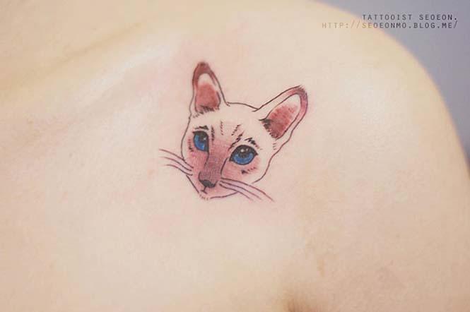 Μινιμαλιστικά τατουάζ από την Seoeon (19)