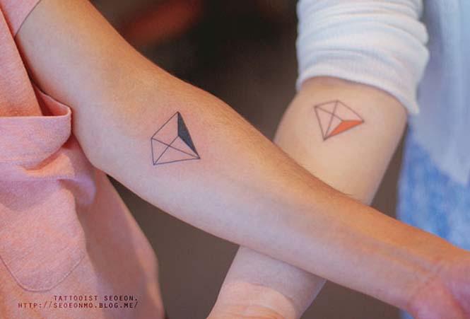 Μινιμαλιστικά τατουάζ από την Seoeon (25)