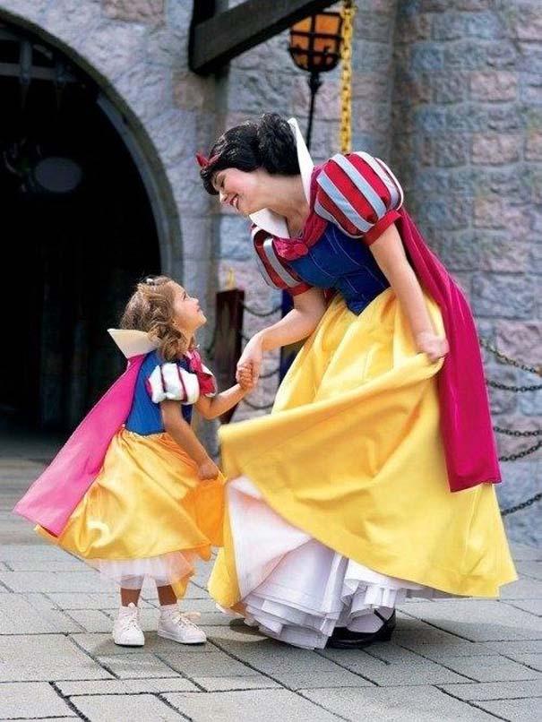 Μοναδικές στιγμές στα θεματικά πάρκα της Disney (9)