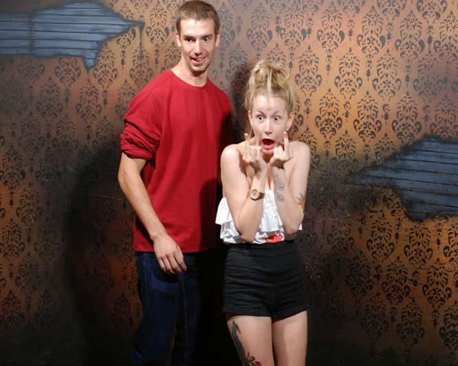 Άνθρωποι στο τρομακτικό «Nightmares Fear Factory» (5)
