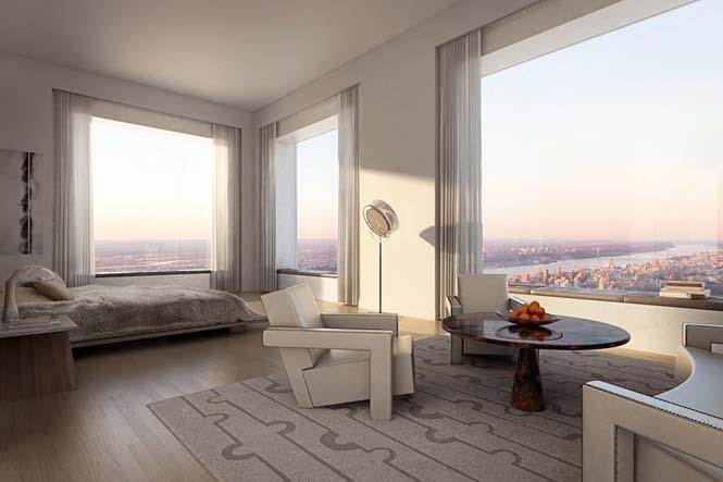 Penthouse αξίας 95 εκατομμυρίων δολαρίων σε ύψος 417 μέτρων (11)