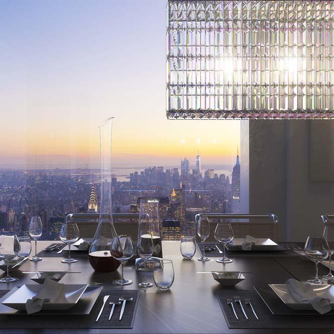 Penthouse αξίας 95 εκατομμυρίων δολαρίων σε ύψος 417 μέτρων (12)