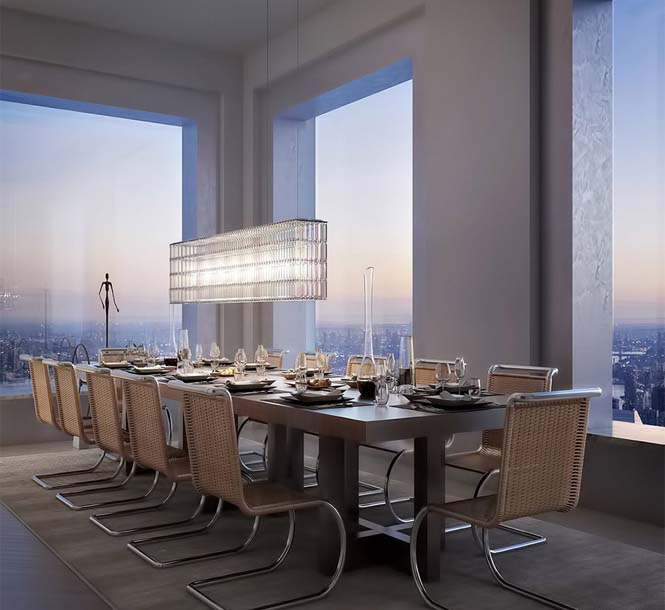 Penthouse αξίας 95 εκατομμυρίων δολαρίων σε ύψος 417 μέτρων (3)