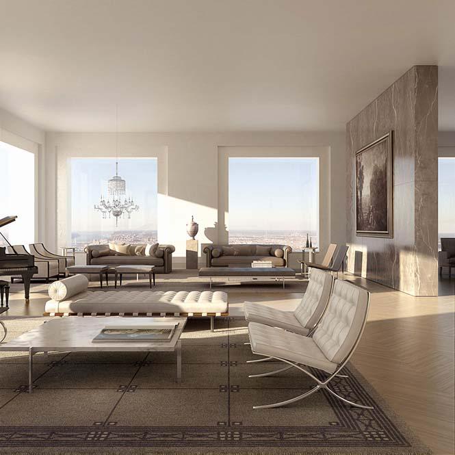 Penthouse αξίας 95 εκατομμυρίων δολαρίων σε ύψος 417 μέτρων (8)