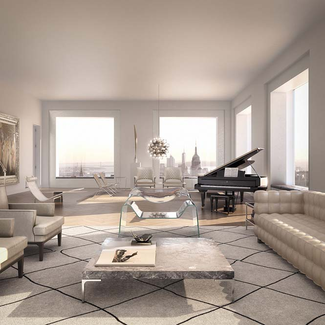 Penthouse αξίας 95 εκατομμυρίων δολαρίων σε ύψος 417 μέτρων (9)