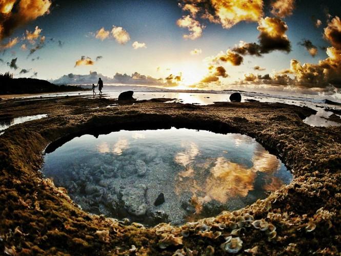 Φυσικές παλιρροιακές πισίνες στο Μεξικό | Φωτογραφία της ημέρας