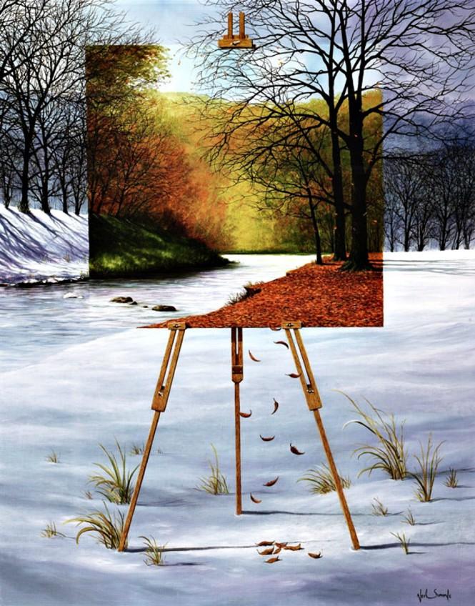 Πίνακας μέσα στον πίνακα | Φωτογραφία της ημέρας