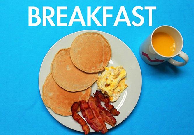 Πρωινά γεύματα απ' όλο τον κόσμο