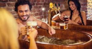 Σπα μέσα σε μπύρα