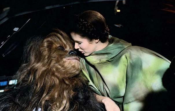 Στα γυρίσματα της ταινίας «Star Wars Η Επιστροφή των Jedi» (7)