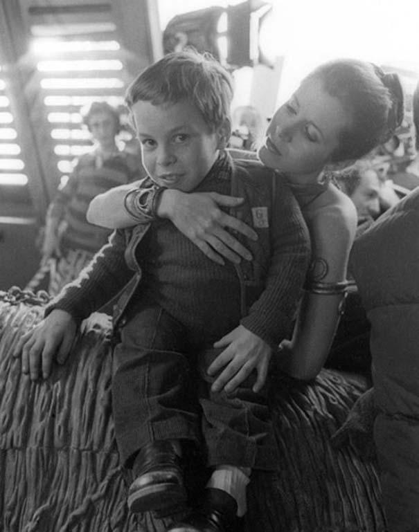Στα γυρίσματα της ταινίας «Star Wars Η Επιστροφή των Jedi» (19)