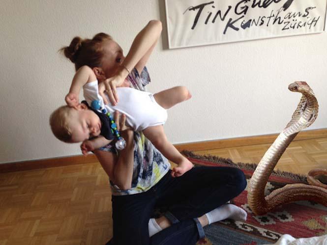Οι θεότρελες φωτογραφίες μιας babysitter (1)