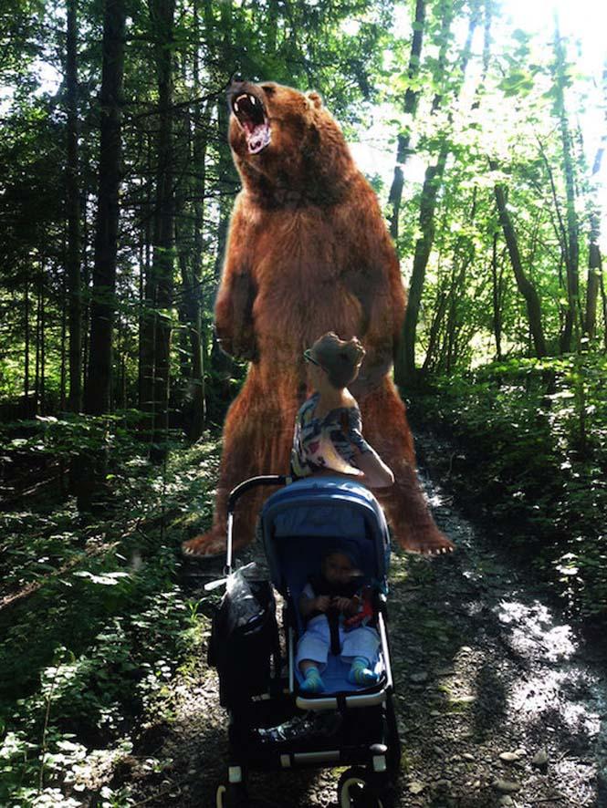 Οι θεότρελες φωτογραφίες μιας babysitter (2)