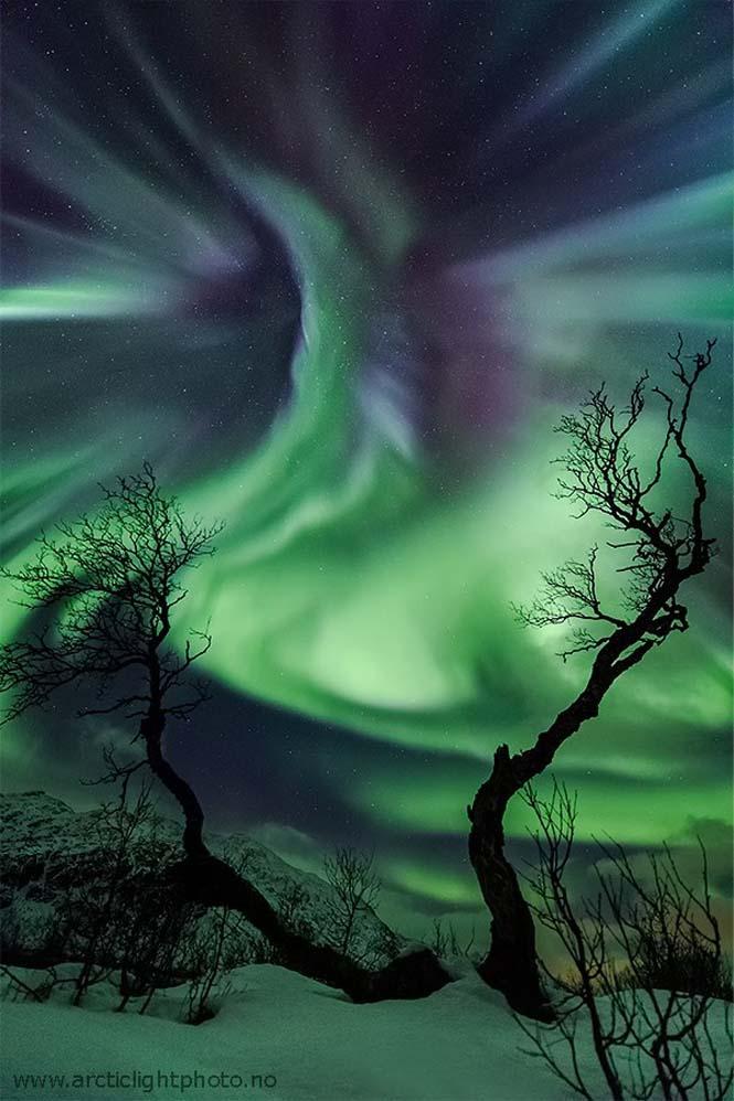 Το Βόρειο Σέλας σε εκπληκτικές φωτογραφίες από τη Νορβηγία (1)