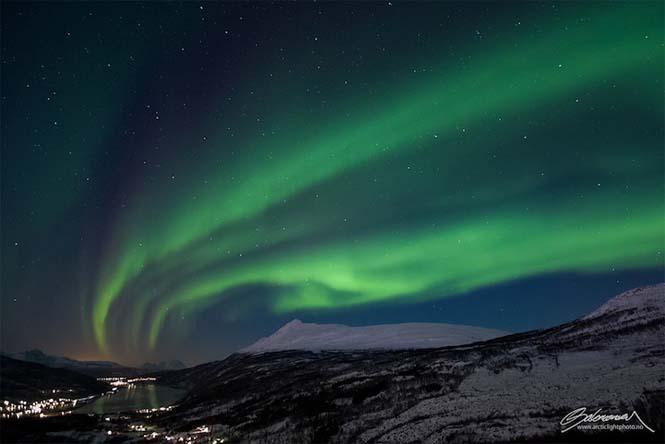 Το Βόρειο Σέλας σε εκπληκτικές φωτογραφίες από τη Νορβηγία (4)