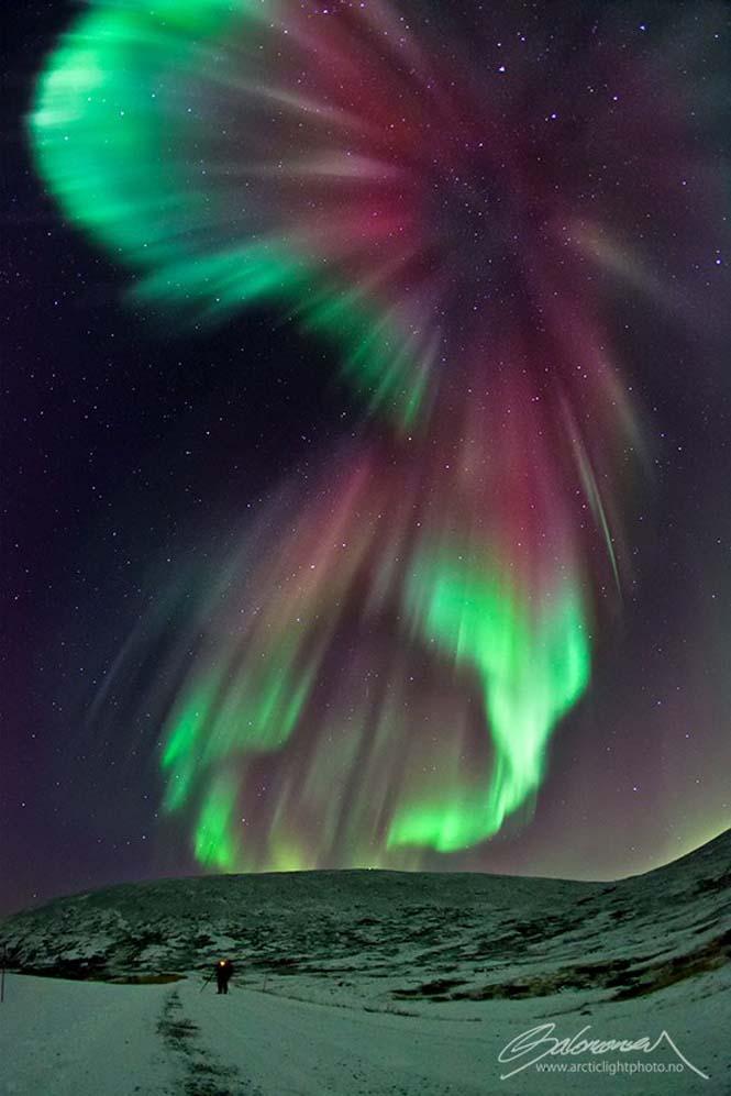 Το Βόρειο Σέλας σε εκπληκτικές φωτογραφίες από τη Νορβηγία (6)