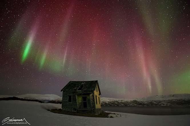 Το Βόρειο Σέλας σε εκπληκτικές φωτογραφίες από τη Νορβηγία (8)