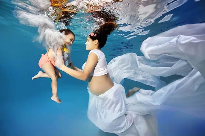 Υποβρύχιες φωτογραφίες εγκυμοσύνης (2)