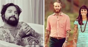 Καλλιτέχνης φαντάζεται τους διάσημους με τατουάζ χρησιμοποιώντας το Photoshop