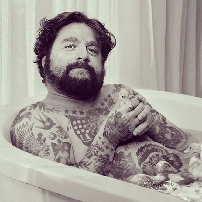 Καλλιτέχνης φαντάζεται τους διάσημους με τατουάζ χρησιμοποιώντας το Photoshop (21)