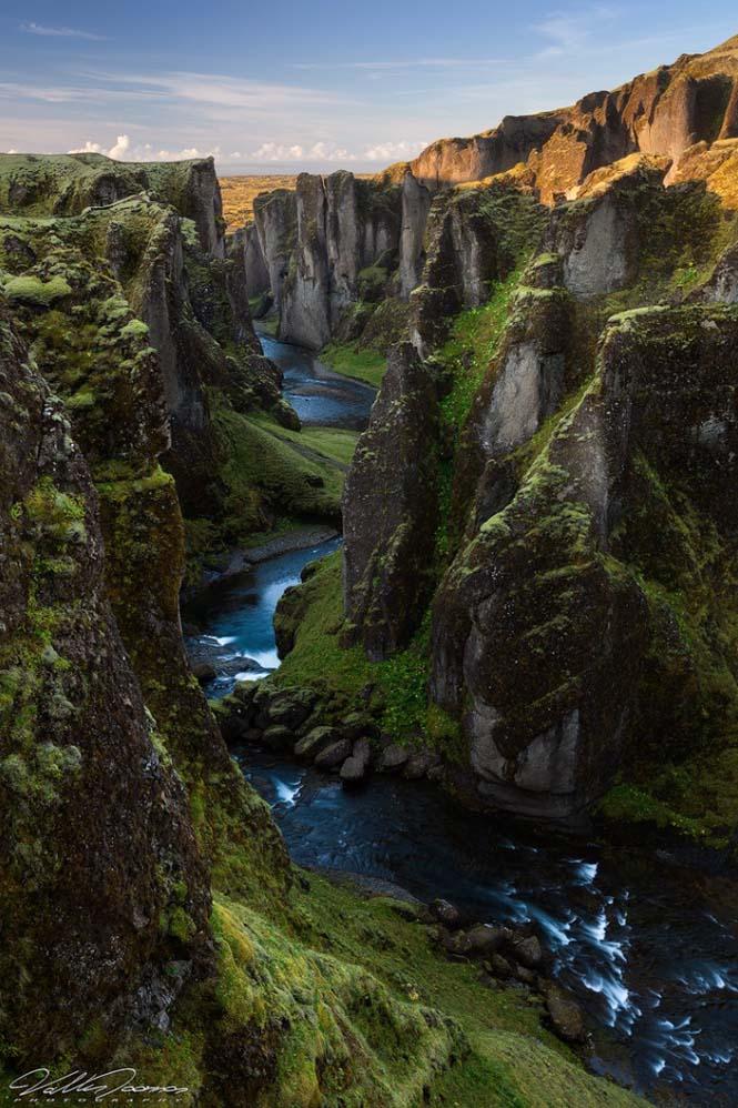 Fjaðrárgljúfur: Ένα από τα ομορφότερα φαράγγια στον κόσμο (1)